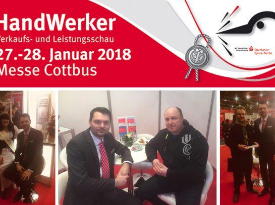 Handwerker Ausstellung 2018 in den Cottbuser Messehallen